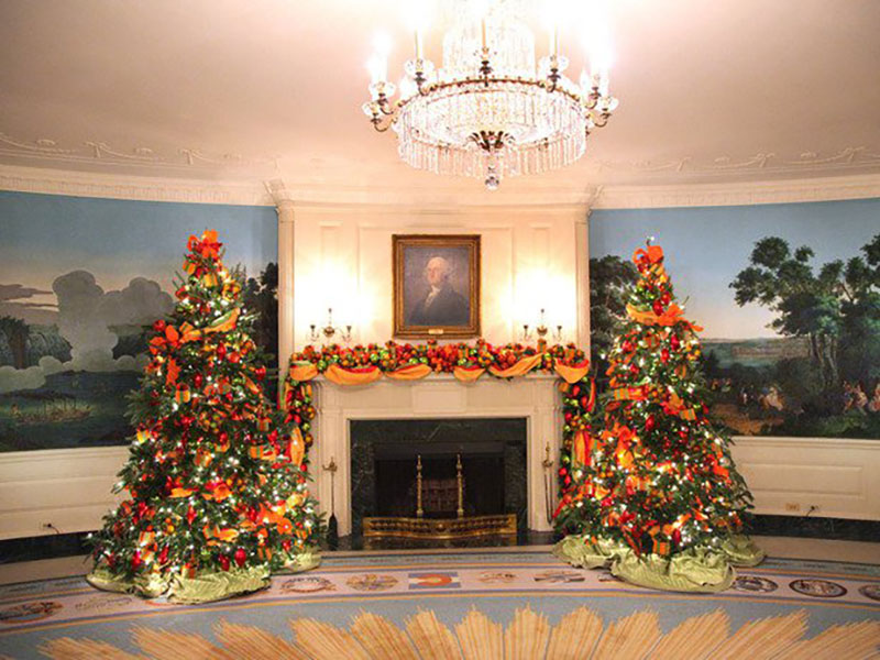 Decorating the WhiteHouse - Diplomatic Reception Room