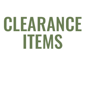 70% Off Clearance Items